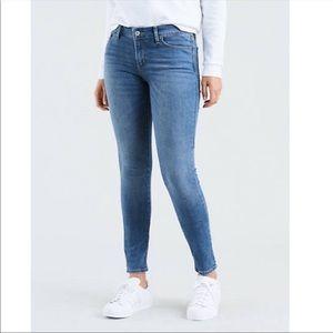 Levi's bold curve jeans size 0